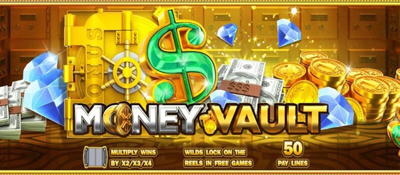 เราจะพาคุณไปเปิดตู้เก็บเงินสดในเกม สล็อต Money Vault