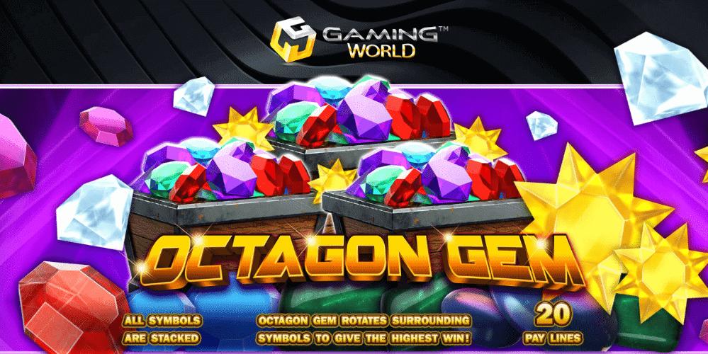 สล็อต octagon gem เล่นเกมสล็อตธีมสวย ได้เงินจริง